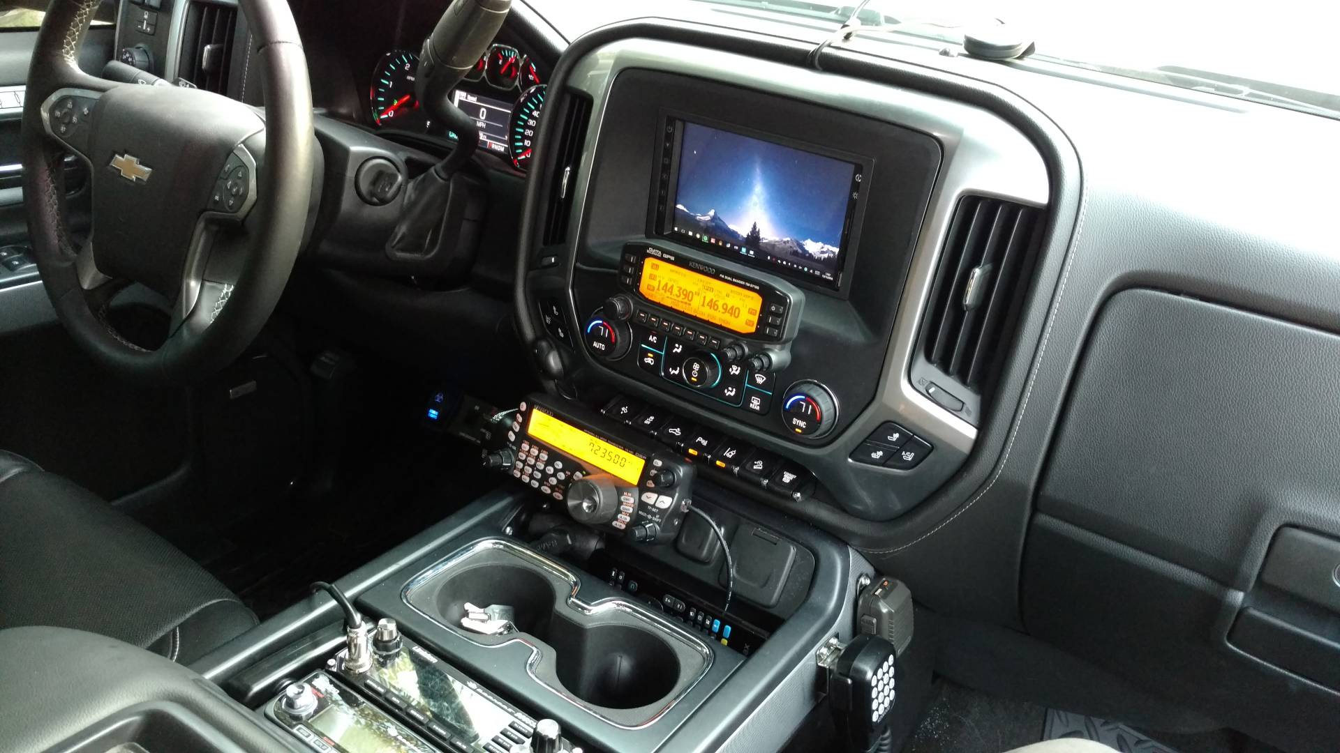 Alpine x110 slv alpine makes a head unit specific to our trucks called the x110 slv to be honest it s what i wanted before i went with the carpc